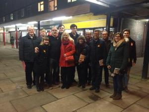 NEC Dec 2014 Campaigning stevenage